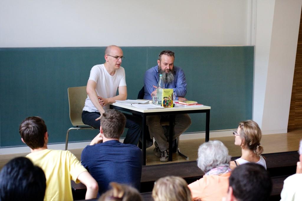 Jakob Hein und Jürgen Witte in Heidelberg